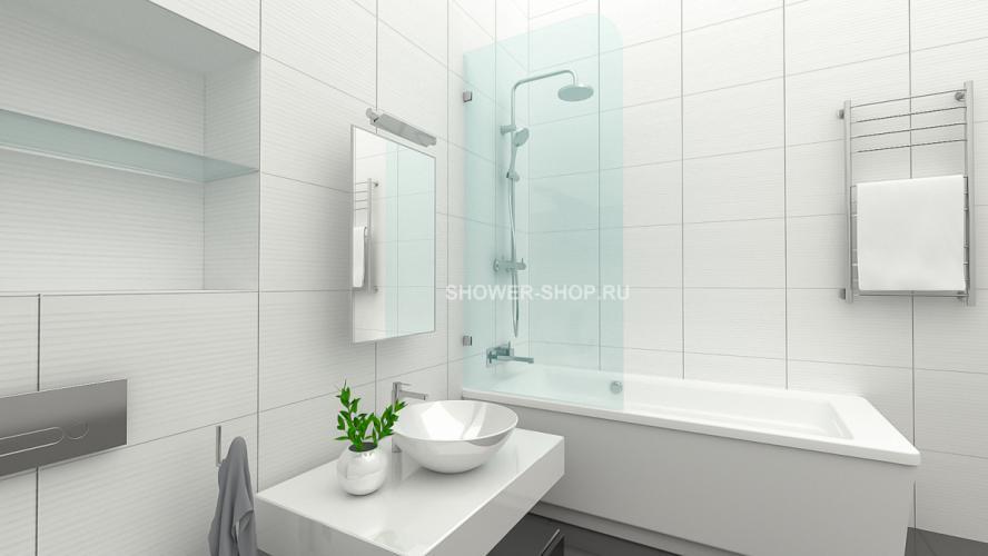 Фурнитура для стеклянного ограждения на ванну №702
